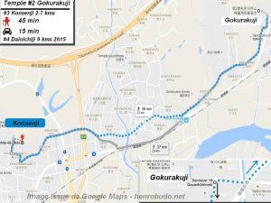 Accèder à pied au troisième temple : Konsenji du pèlerinage de Shikoku (Shikoku hachijū hakkasho)